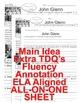 Astronaut John Glenn CLOSE READING 5 LEVEL PASSAGES Main Idea Fluency Check TDQs
