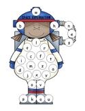 Astronaut Lowercase Alphabet Mat