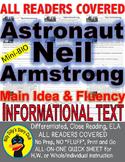 Astronaut Neil Armstrong CLOSE READING 5 LEVELED PASSAGES Main Idea Fluency TDQs