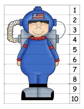 Astronaut Number Puzzle