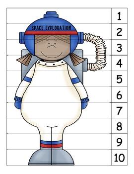Astronaut Number Puzzle 2