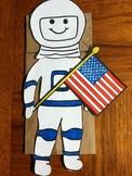 Astronaut Paper Bag Puppet