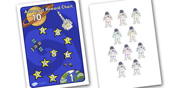 Astronaut Reward Chart