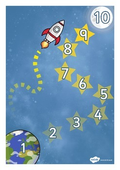 Astronaut (Space) Reward Chart