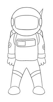 Astronaut Template Free Printable Papercraft Templates 14
