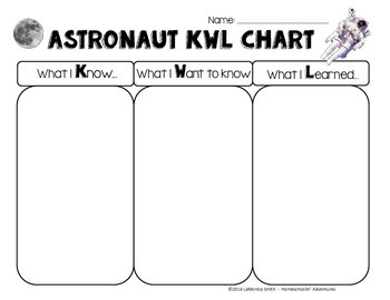 Astronaut Themed Printables FREEBIE - graphing, QR codes, literacy activities