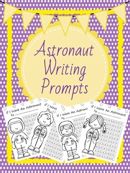 Astronaut Writing *Work on Writing* activity