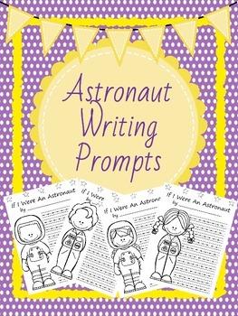 Astronaut Writing *Work on Writing* activity