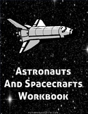 Astronaut and Space Shuttle  Workbook