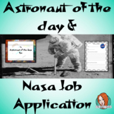 Astronaut of the Day Certificate and NASA Job Application