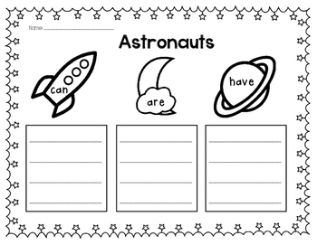 Astronauts Can, Have, Are