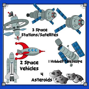 Astronauts Clip Art