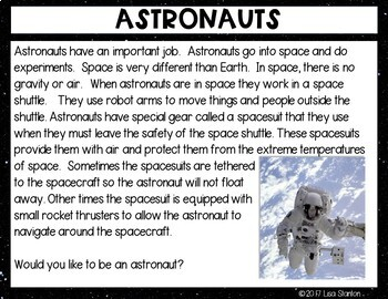 All About Astronauts {Digital Version}