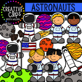Astronauts: Space Clipart {Creative Clips Clipart}