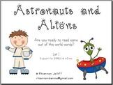 Astronauts and Aliens 2- DIBELS/mClass Nonsense Words