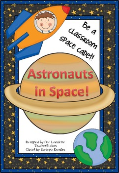 Astronauts in Space Literacy and Math Activities