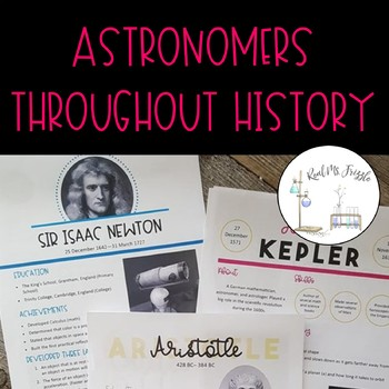 Astronomers throughout History