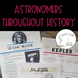 Astronomers throughout History: Reading and Writing Assignment