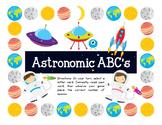 Astronomic ABC: Letter identification game