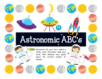 Astronomic ABC: Letter identification game