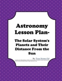 Astronomy-Planets and the Distance From the Sun