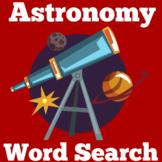 Astronomy Worksheet Activity