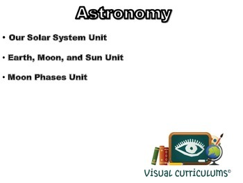 Astronomy: 3 Lesson Combo Pack-classroom unit, study guide, exam prep