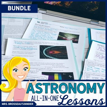 Astronomy ALL-IN-ONE Lessons Bundle | 17 SPACE Lessons