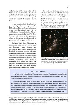 Astronomy Activity #2 Space Telescopes and Astronomy