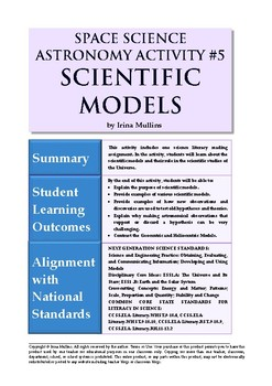 Astronomy Activity #5 Scientific Models