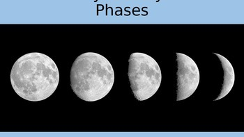 "Astronomy Activity - ""Lunar Phases"""