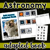 Astronomy Adapted Book with Differentiated Worksheets