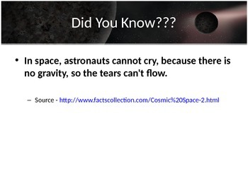 Astronomy - Asteroids, Meteors and Comets (POWERPOINT)