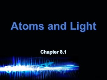 Astronomy: Atoms and Light