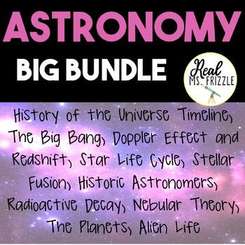 Astronomy Big Bundle