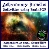 Astronomy BrainPOP Bundle
