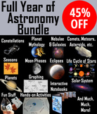Astronomy Bundle: Stars, , Planets, Moon Phases, Solar System Activities & PPTs