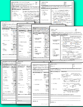 Astronomy Bundle- Earth, Moon, and Sun Unit (5 Cornell notes and Presentation)