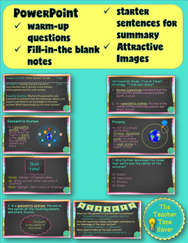 Astronomy Bundle- Solar System Unit (Cornell Notes and Presentation)