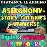 ASTRONOMY UNIT- STARS, GALAXIES, & UNIVERSE {EDITABLE & DIGITAL}