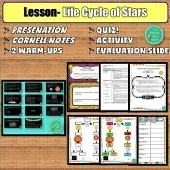 ASTRONOMY AND SPACE UNIT- STARS, GALAXIES, & UNIVERSE {ONLINE RESOURCE}
