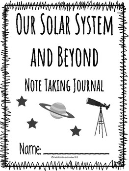 Astronomy CKLA Note Taking Journal