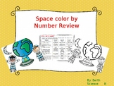 Astronomy Color by Number