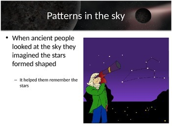 Astronomy - Constellations (POWERPOINTS)