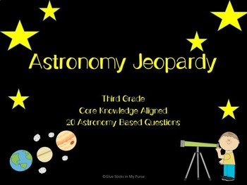 Astronomy Core Knowledge Jeopardy Review (Core Knowledge)