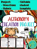 Earth, Sun, and Moon Astronomy Printable Project