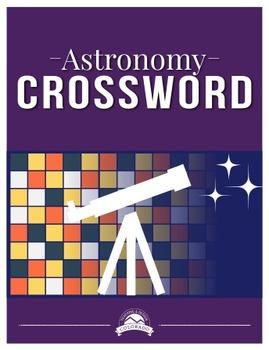 Astronomy Crossword Puzzle {Editable}