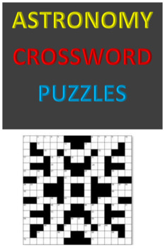 Astronomy Crossword Puzzles