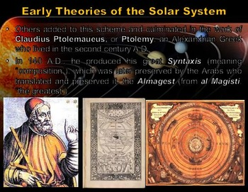 Astronomy: Early Theories of the Solar System