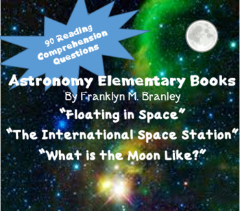 Astronomy; Elementary Reading Books; Comprehension Questions bundle; SAVE $